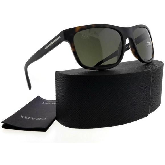 55baa44a3f8c6 PR15RS-HAQ4J1-60 Men s Havana Frame Sunglasses NWT. NWT. Prada